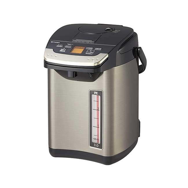 虎牌 PIG-S300 無蒸氣真空VE電熱水瓶 3L 日本 熱水瓶 不插電可供水 日本代購