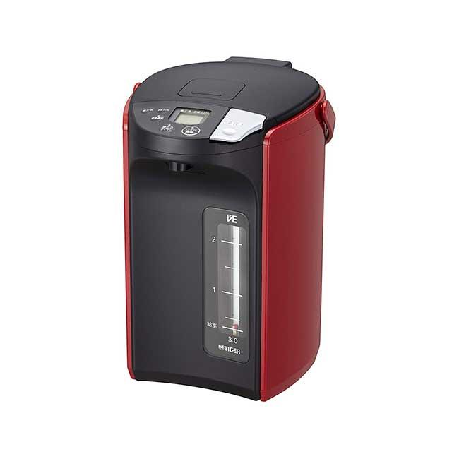 虎牌 PIP-A300 無蒸氣真空電熱水瓶 3L 快速煮沸 熱水瓶 VE真空構造 除氯 日本 日本代購