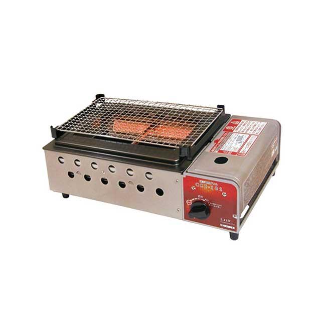 日本日燃 卡式瓦斯爐 遠紅外線 燒烤 CC1-101 卡式爐 Nichinen 日本代購