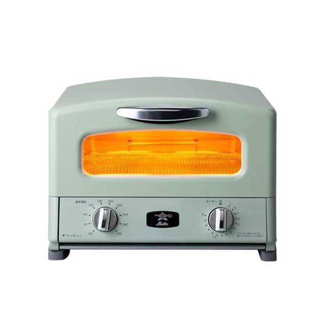 日本千石 阿拉丁Aladdin AGT-G13A 遠紅外線石墨烤箱 4枚燒 烤箱 0.2秒瞬熱 日本代購
