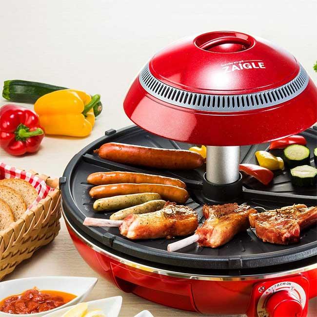 ZAIGLE PLUS 紅外線 無油煙 電烤盤燒烤機 烤肉 燒烤 日本 日本代購