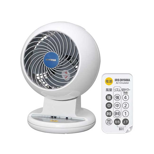 IRIS Ohyama 愛麗思 空氣循環扇 PCF-C15 遙控定時氣流循環扇 白 4坪用 C15 日本 日本代購