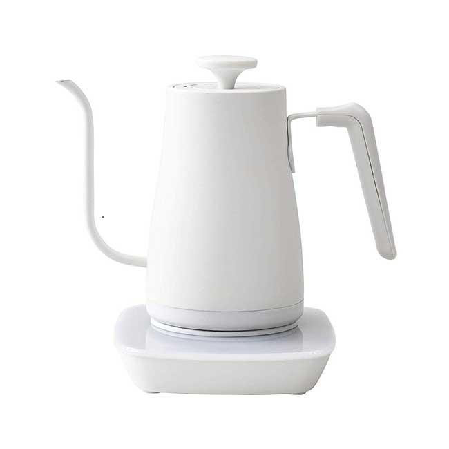日本 YAMAZEN 山善 0.8L YKG-C800 細口手沖咖啡壺 快煮壺 日本代購