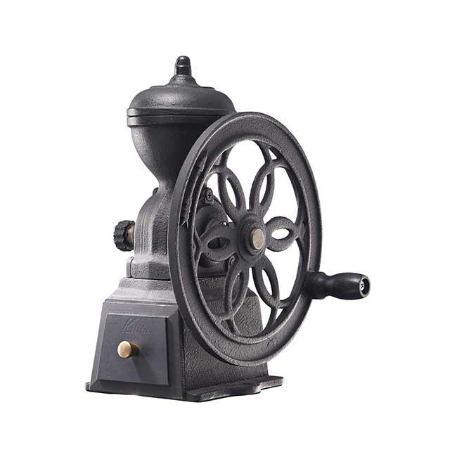 日本製 Kalita復古鑄鐵 轉輪 手動咖啡豆磨豆機 日本代購