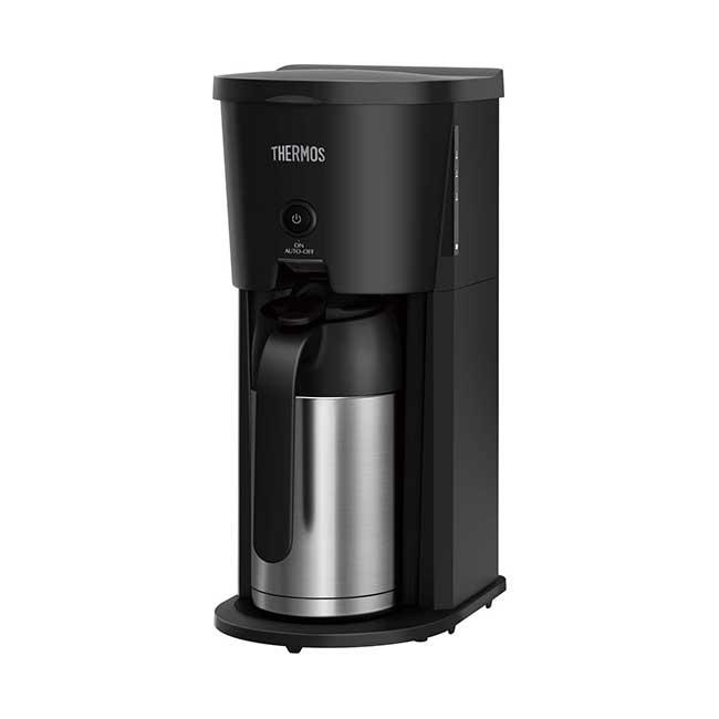 日本 THERMOS 膳魔師 ECJ-700 BK 美式咖啡機 真空斷熱 不鏽鋼保溫壺 0.63L 日本代購