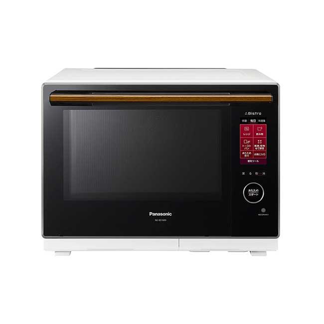 國際牌 Panasonic NE-BS1600 水波爐 30L 2段料理 385種自動食譜 觸控面版 日本代購