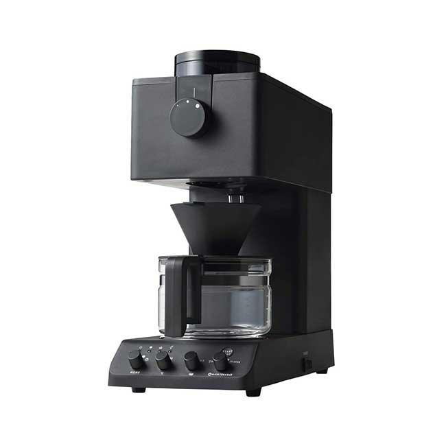 TWINBIRD 雙鳥牌 CM-D457B 全自動咖啡機 手沖 滴漏式 磨豆 3杯 黑色 日本代購