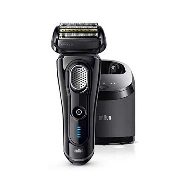 BRAUN 德國百靈 series 9系列 9250cc-P 電動刮鬍刀 5段式 4刀頭 日本代購