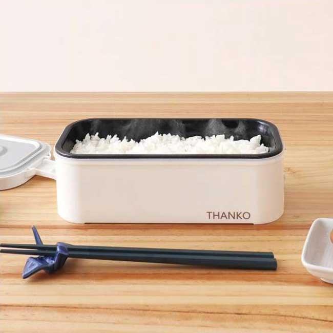THANKO TKFCLBRC 超高速 便當型電子鍋 14分煮飯 飯鍋 電鍋 一人 小資族 日本代購
