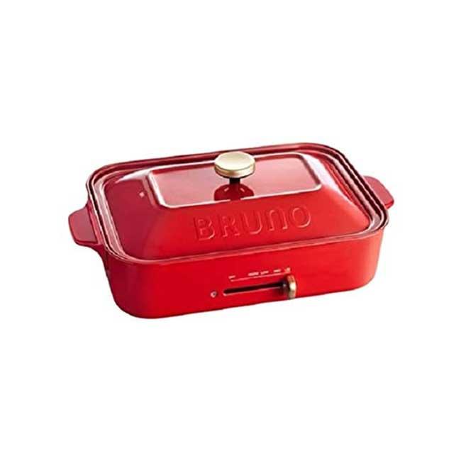 日本 BRUNO 多功能鑄鐵電烤盤 電烤盤 BOE021 日本代購