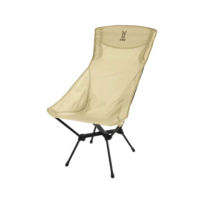 DOD 營舞者 高背椅 折疊椅 易收納 C1-592 日本代購