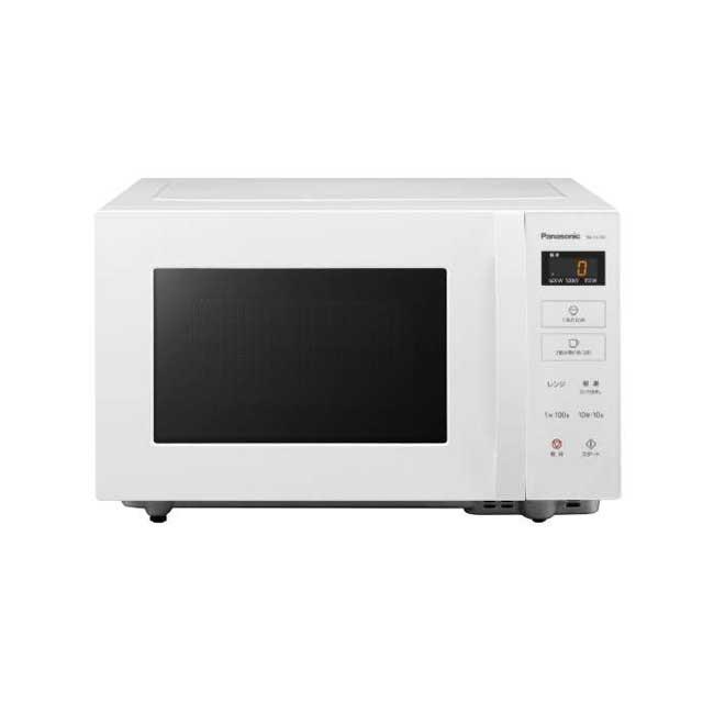 Panasonic 國際牌 NE-FL100 單機能 微波爐 22L 解凍 操作簡單 白色 日本代購