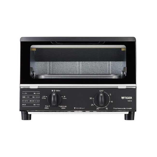 TIGER 虎牌 KAK-G100 烤麵包機 小烤箱 5段火力 2片吐司 30分定時 2020新款 日本代購