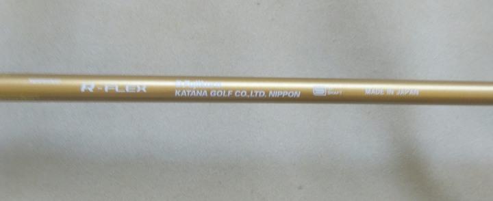 Katana Voltio Ninja 高反發一號木