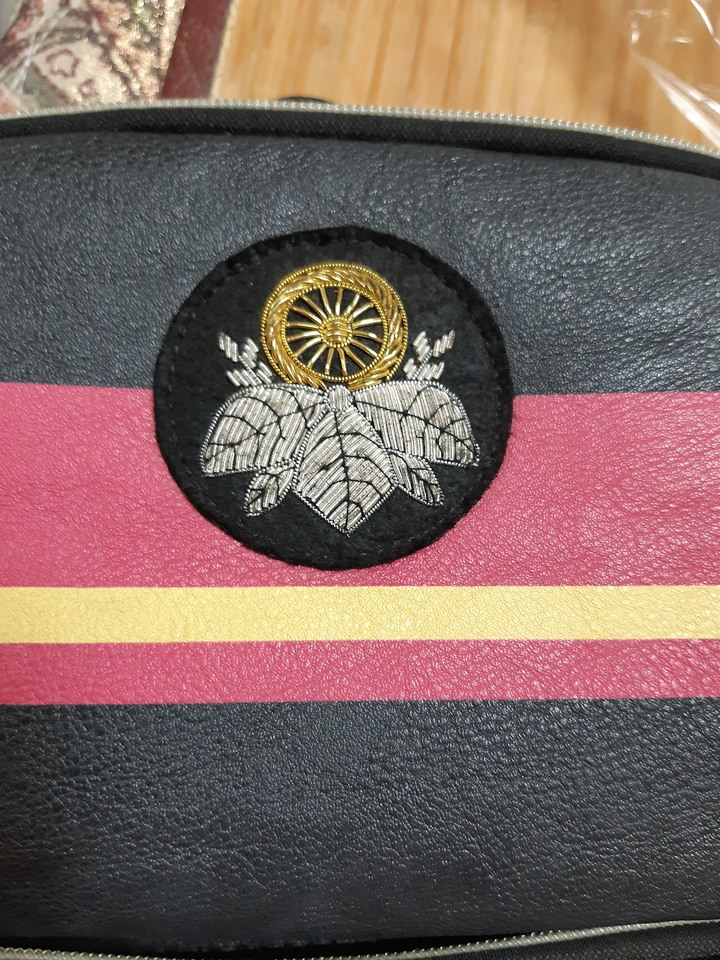 Maitetsu まいてつ- 愛上火車 側背包