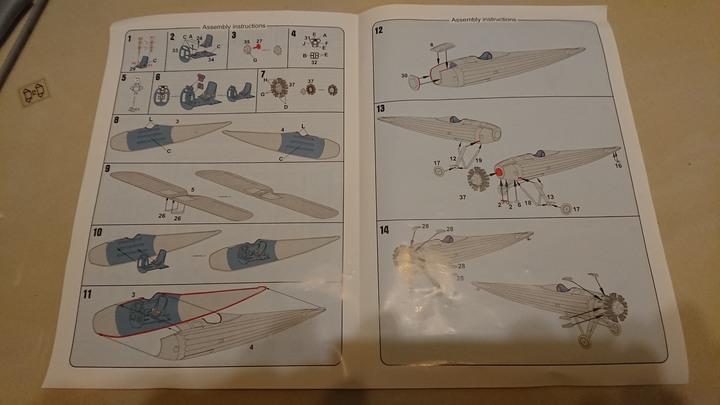 (開箱)稀有之AZ Models出品1/72「中島九一式戰鬥機」